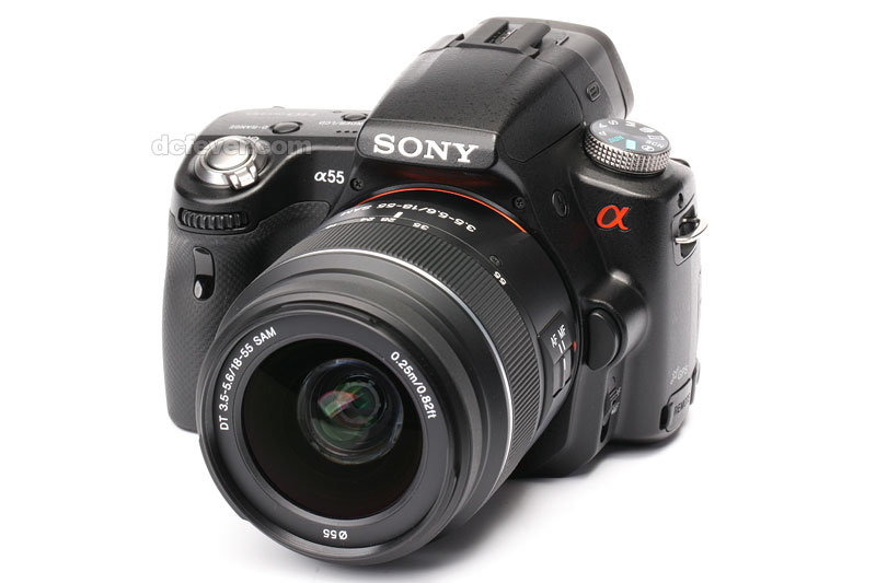 how to use a sony slt-a55v