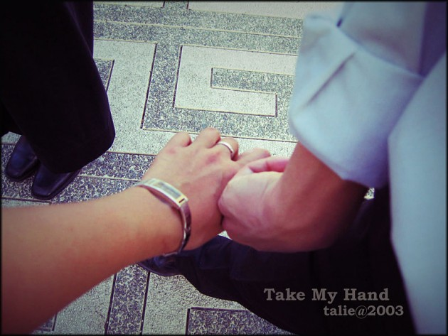 take my hand简谱