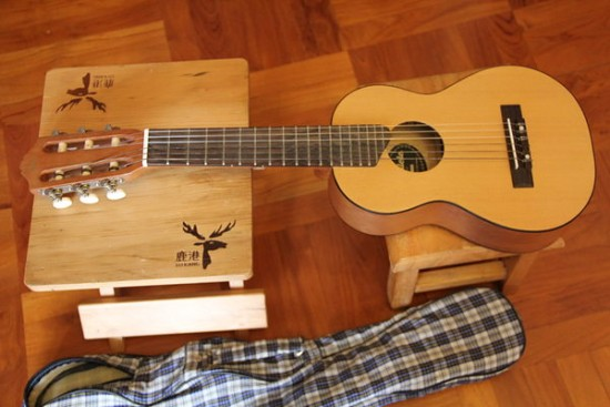 情人節之選 得意好玩 Yamaha GL1 Guitarlele ukulele 小吉他 90% New (TomLee 好賣到斷了市)