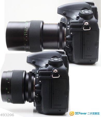 Vivitar Macro MC 55mm f2.8 ( Nikon non-AI ) 真正1比1大光圈微距鏡皇