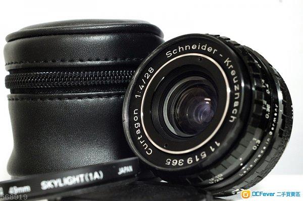 M42 真水無香 全能廣角鏡 Schneider-Kreuznach Curtagon 28mm f/4 (0.2米最近對焦)