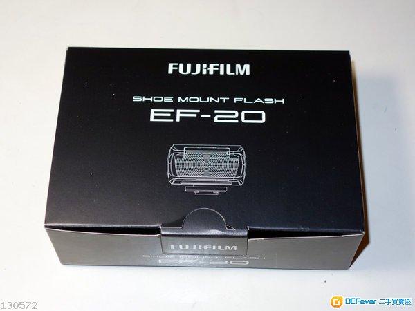 Fujifilm EF-20 閃燈,行貨,少用,極新淨,所有配件齊全。