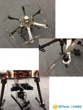 無人機 DJI F550 全套(高空攝影用)