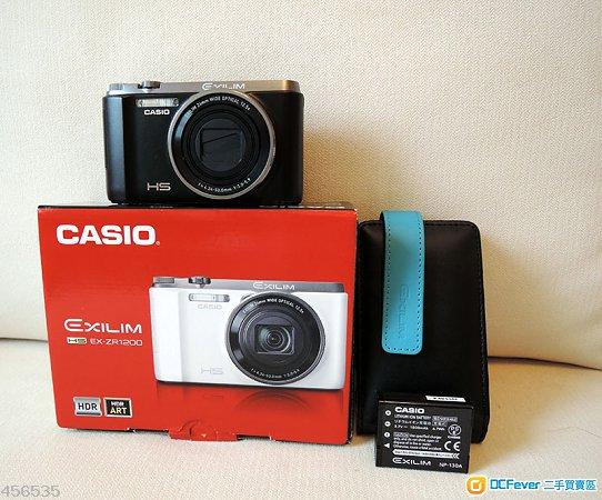 行貨 Casio EX-ZR 1200 (黑色)(保至2015-3月)
