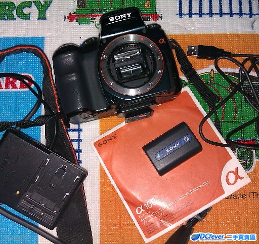 sony a100单反机身