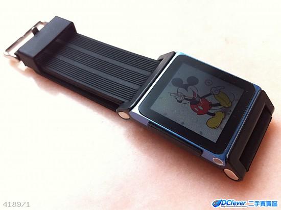 易装拆 苹果 apple ipod nano6 nano 6 手表带 胶手表带 高清图片