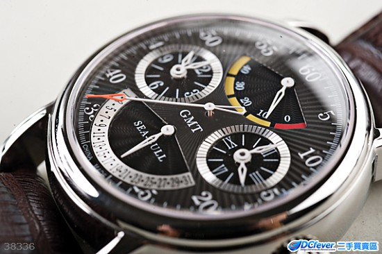 海鸥手表 model : m189s 黑色表带