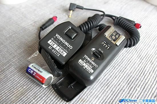 永诺无线引闪及快门遥控器 rf-602