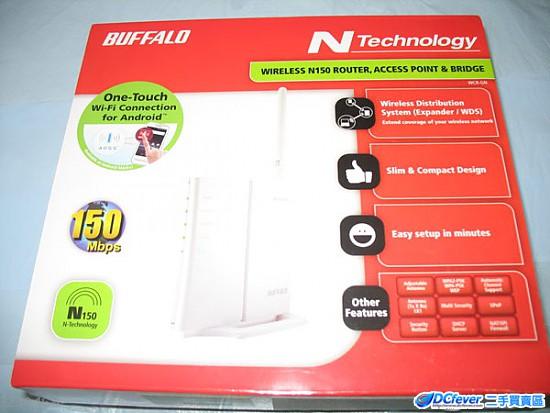 buffalo wcr-gn-ap n150 150mbps 无线宽频分享器