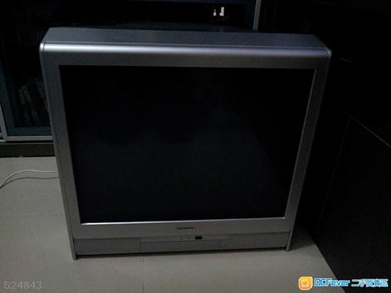 出售: 24寸 crt 东芝平面电视机