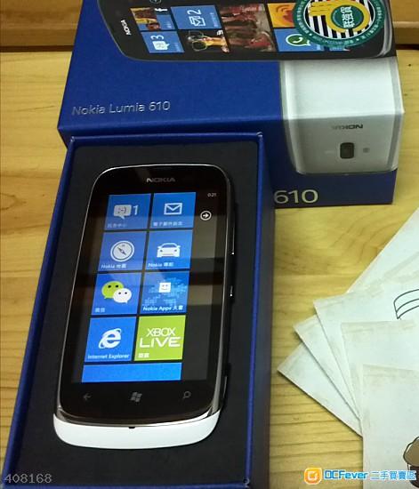 nokia lumia610 100 new 可换物可议价