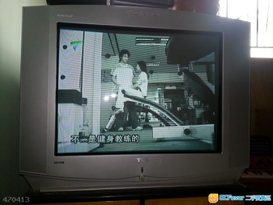 tcl 27吋 crt电视机