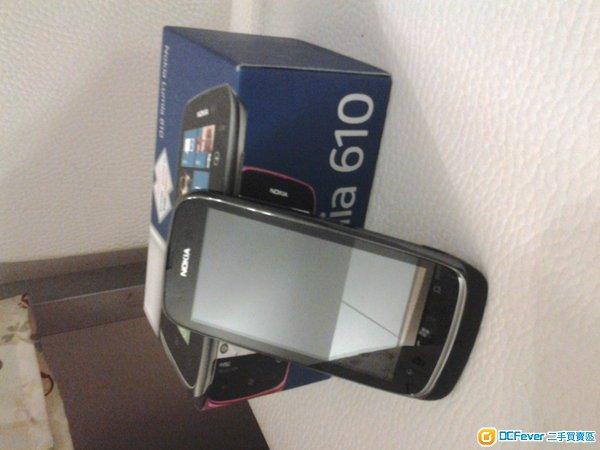 nokia lumia 610 行货黑色 450
