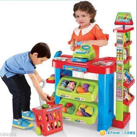 全新兒童超市玩具