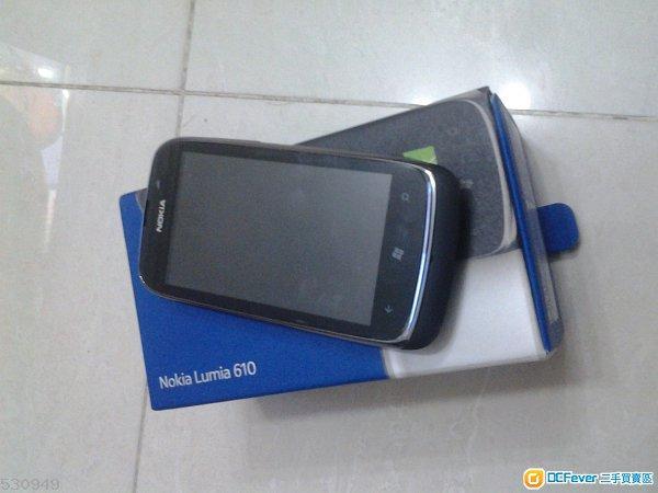 行货nokia lumia 610 90 new 可换机