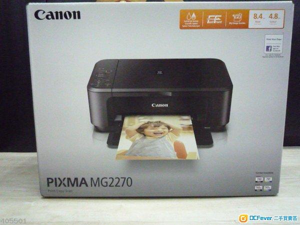 出售 全新Canon PIXMA MG2270 Smart Home 多合一相片打印机图片
