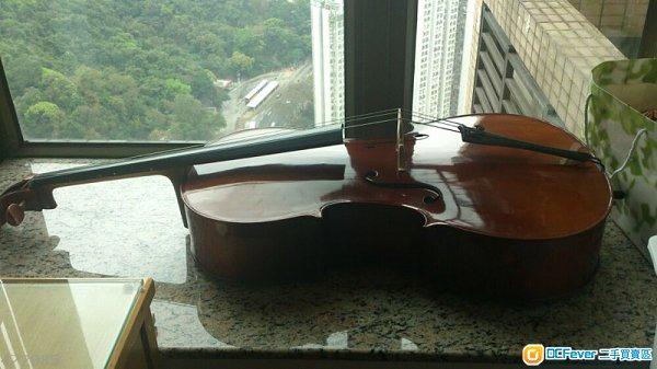 九成新4/4大提琴
