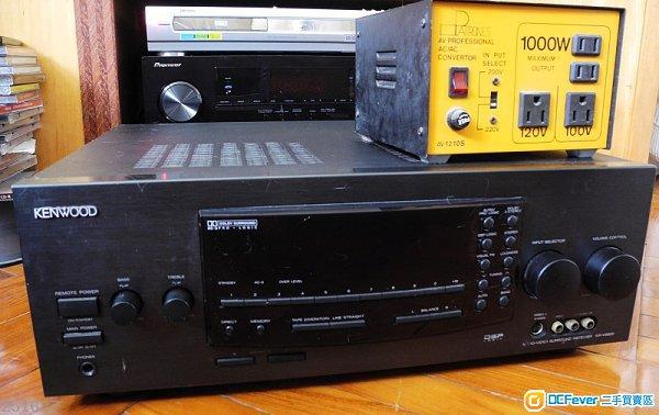 kenwood av amplifier kr-v 990d