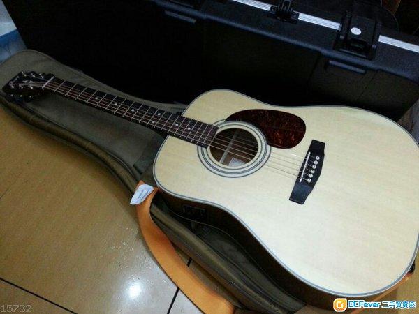 全新cort单板电木吉他e70