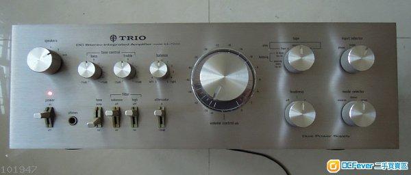 日本trio ka-5500功放电路图