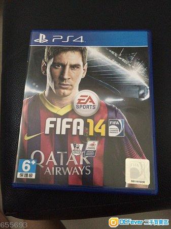 PS4 FIFA 2014 (只玩过<10次) 因已买2015-出售 PS4 FIFA 2014 只