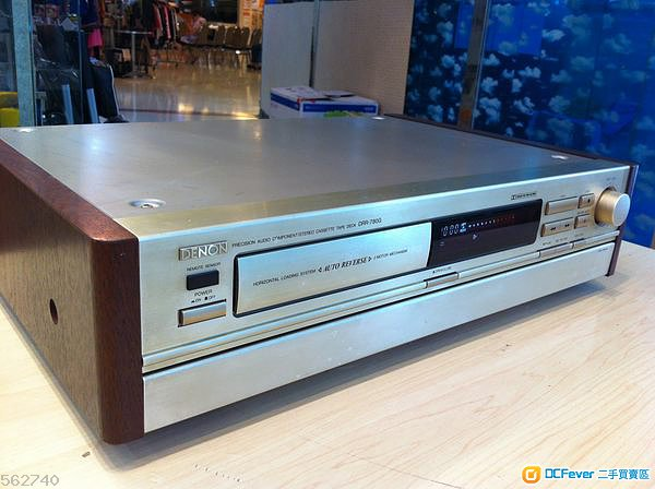 日本名厂denon天龙高级型卡座录音机