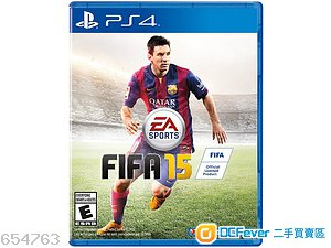 出售 FIFA 2015 PS4 99 新
