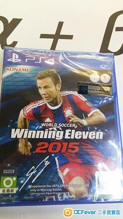 出售 PS4 WE2015 行