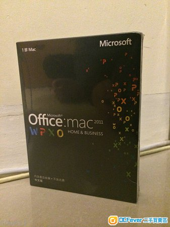 出售 Microsoft Office中文版 2011 For Mac Home Business