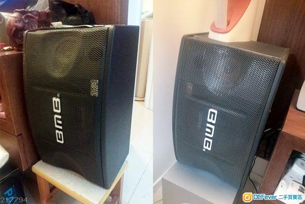 bmb speaker 喇叭 一对, 90% new