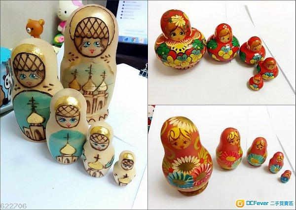 全新手工艺古董摆设 俄罗斯许愿套娃