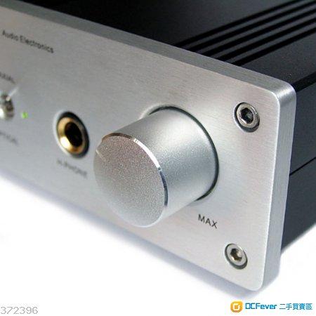 小型桌面数模转换耳机放大器