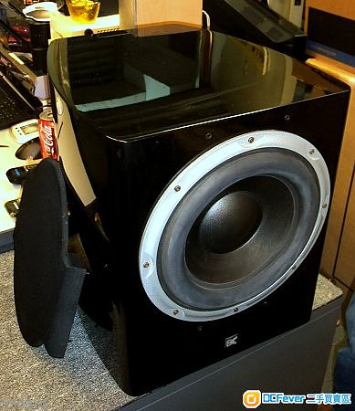 dynamic audio da-sw1000 subwoofer 钢琴木10吋重低音