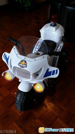 儿童电动玩具警察电单车