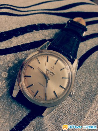 古董pronto上链机械手表 高清图片