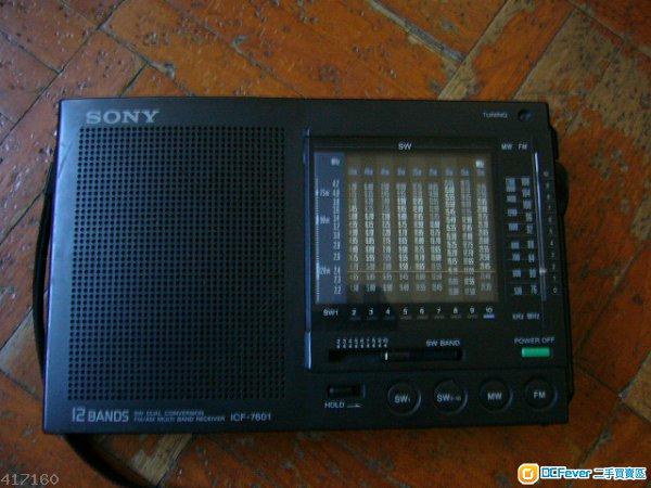 sony radio icf-7601