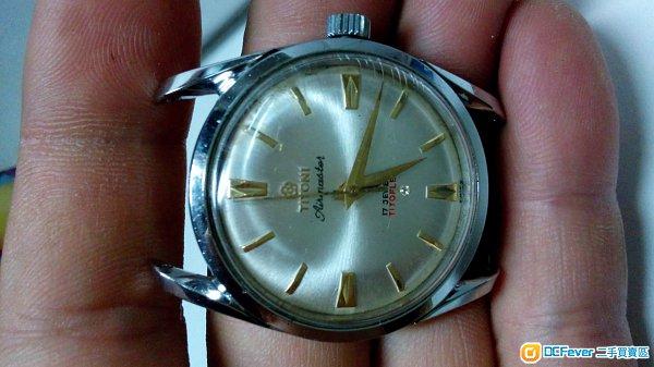 梅花旧装手上鍊手表