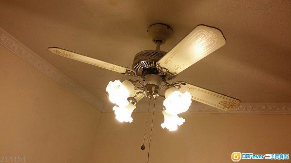 接线图安装2个风扇2个灯