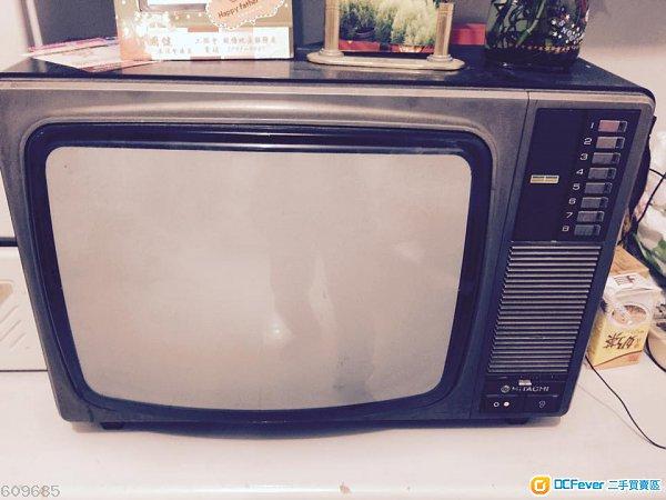 怀旧:日立牌电视机