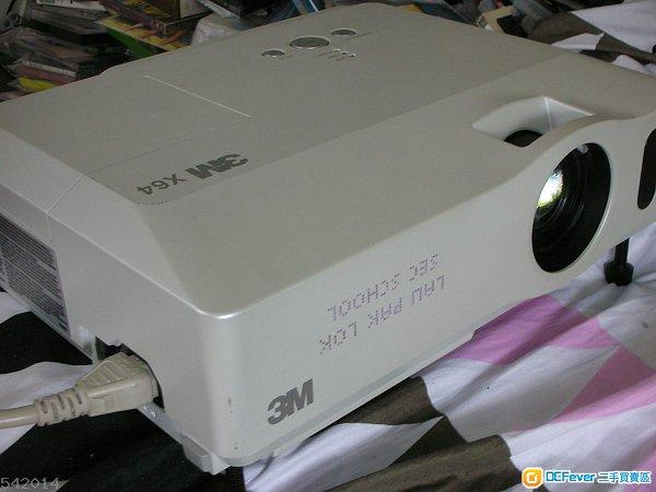 3m 投影机 projector x64 1080i 2600 lux 色差 vga video 输入