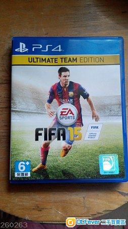 出售 PS4 FIFA 2015 CODE USED