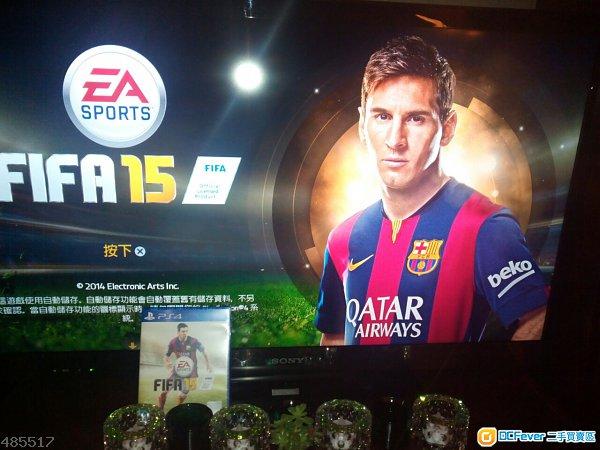 出售 PS4 FIFA 15 於7.4.2015购入