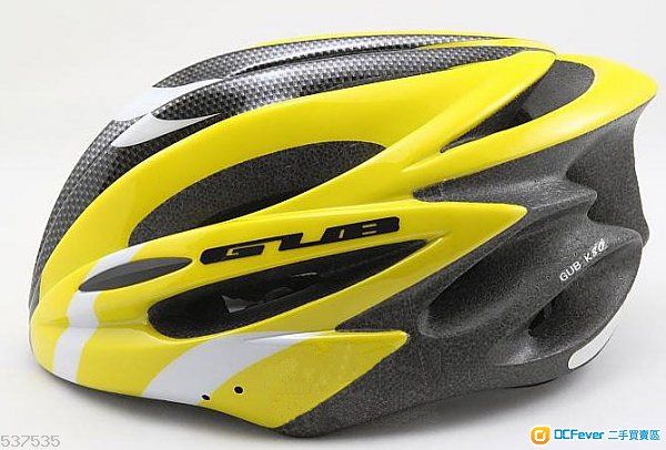 台湾gub k80 自行车头盔 (黄色)