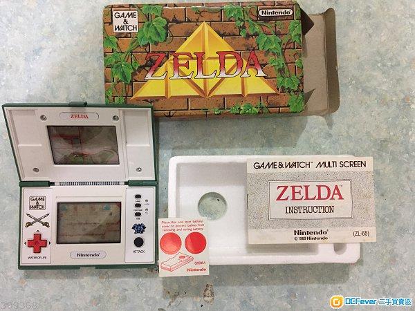game & watch 任天堂zelda游戏机
