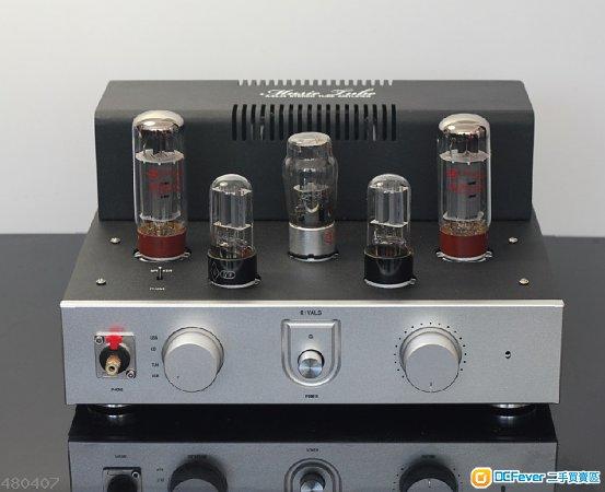 前级电压放大: 12ax7*2