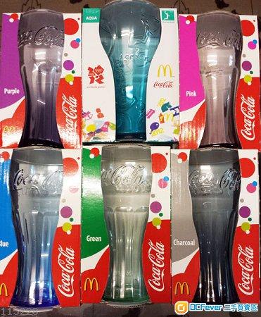 售 2009年麦当劳弧型可乐杯全套,6色齐,100 New图片