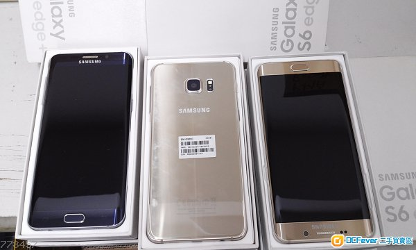 amsung Galaxy S6 edge plus 32GB 金 蓝 fullset