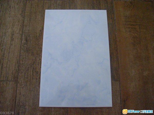 白色 蓝暗花 抛光 墙砖 瓷砖