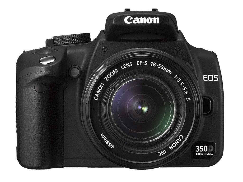 正式登场:canon eos 350d(更新版)