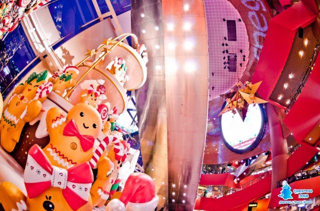 【仓鼠君专栏】圣诞商场布置.鱼眼之旅